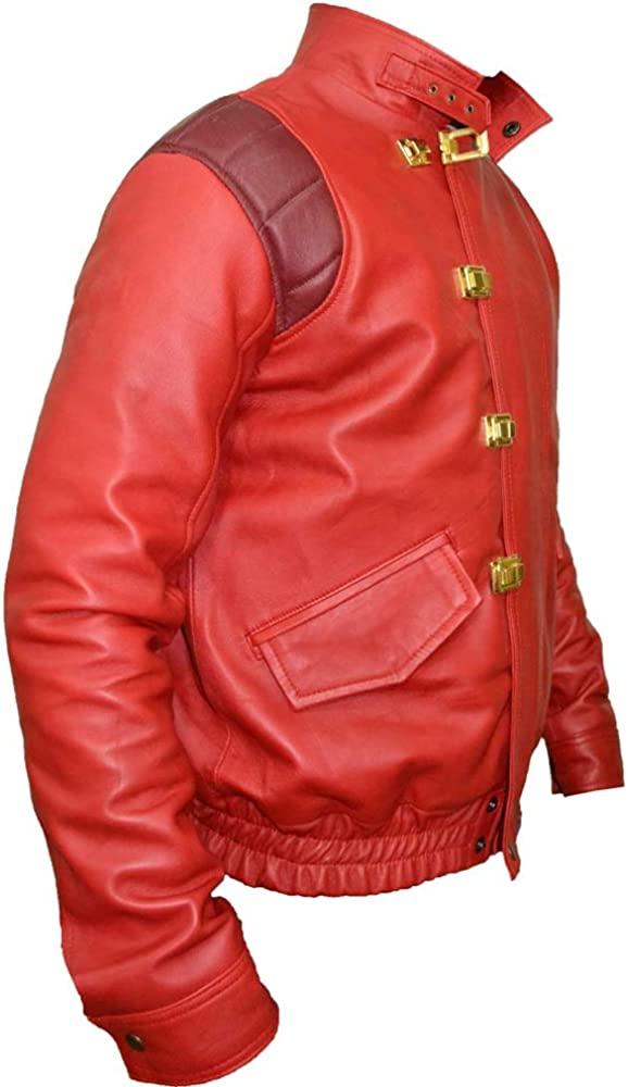 Akira Kaneda Leather Jacket,Capsule and Text Manga Katsuhiro Otomo Sheep,XXS-3XL
