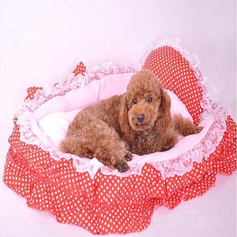 Red Dot Princesa moisés Colchones perro de mascota Cama: Amazon.es: Hogar