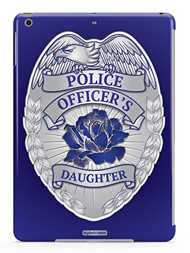 Inspired Cases 3D Textured Police Officer's Daughter Badge Case for iPad -