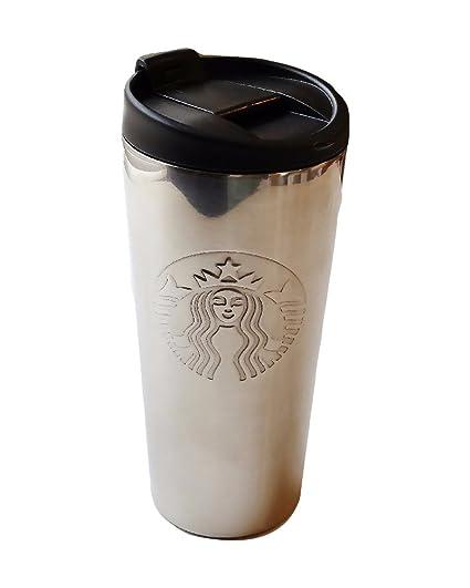 068a8fe9c45 Amazon.com   Starbucks Stainless Steel Embossed Siren High Shine 16 oz  Tumbler: Tumblers & Water Glasses