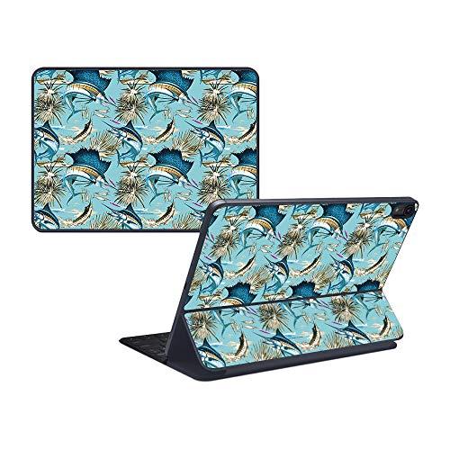 - MightySkins Skin for Apple iPad Pro Smart Keyboard 12.9