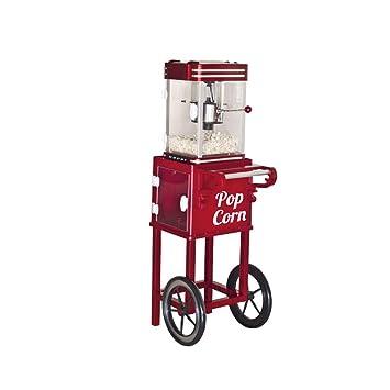 Beper - Máquina para hacer palomitas con carrito