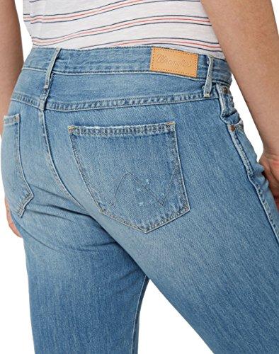 Wrangler Mid 6a Jeans Blu Donna Vintage Boyfriend URUqAv