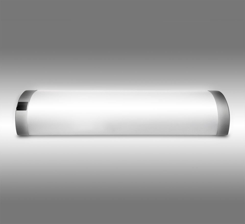 LED Halbrohr-Form Unterbauleuchte Eckleuchte Lichtleiste ...