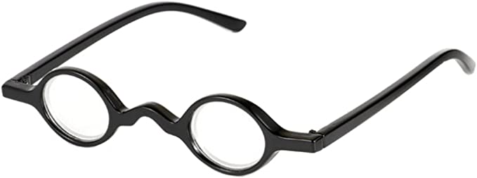 1940s UK and Europe Men's Clothing – WW2, Swing Dance, Goodwin Yefree Retro Vintage Mini Small Round Frame Readers Men Womens Reading Glasses Spring Hinge £4.99 AT vintagedancer.com