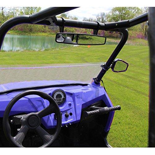 "UTV 15/"" Rear View Race Mirror with 1.75/"" Clamp For Polaris RZR800 XP900 XP1000"