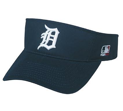 e1bbdc567ea ... coupon detroit tigers mlb oc sports sun visor golf hat cap navy blue w  white d