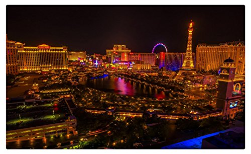USA Houses Las Vegas Night Cities Furniture & Decorations magnet fridge magnets (Fridge Magnets Usa Cities compare prices)