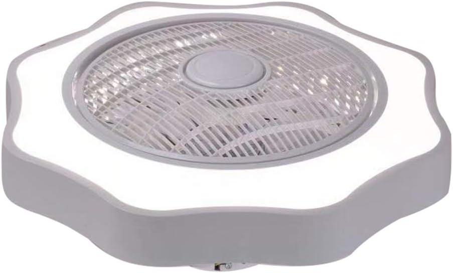 Lilideni Ventilador de Techo con iluminación Luz LED Atenuación ...