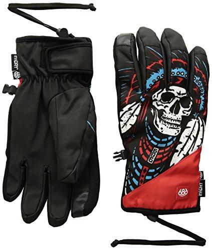 Chief Pipe (686 Men's Ruckus Pipe Gloves, Chief Print, Medium)