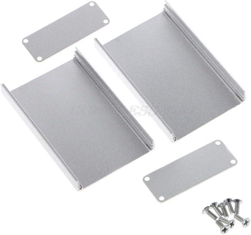 Aluminum Electronic Project Box Enclosure Case DIY Instrument Case 80x50x20mm