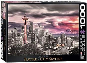 EuroGraphics Seattle City Skyline 1000-Piece Puzzle