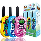 Alapa Walkie Talkies for Kids Voice Activated Walkie Talkies for Adults and Kids 3 Mile Range 2 Way Radio Walkie Talkies Built in Flash Light Camo Exterior Vox (3 Pack)