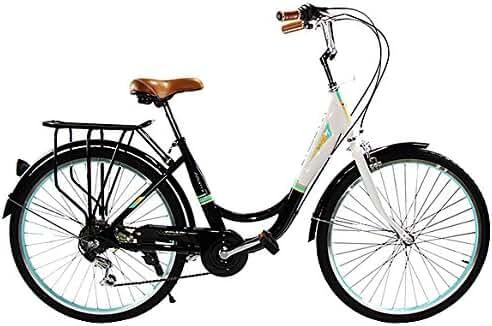 Zycle Fix ZF-BKGL-26 City Bikes, Black, 26-Inch Wheel/Frame