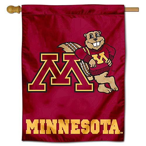 College Flags and Banners Co. University of Minnesota Gophers House Flag