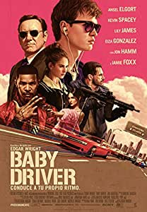 Baby Driver – Edición Metálica (4K Ultra HD + Blu-ray) – Edición Exclusiva Amazon [Blu-ray]