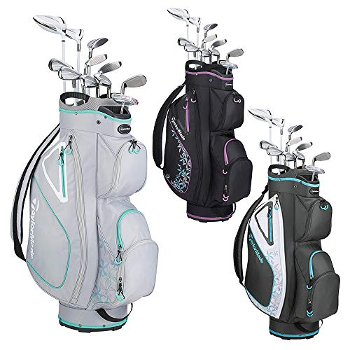 TaylorMade Golf Kalea Complete Golf Set (Dr, 3FW, 5FW, 5H, 6H, 7-PW, SW, Putter, Bag) from TaylorMade