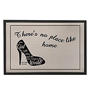 Custom High-heel Shoes Print Comfortable Surface Doormat for Home or Hotel