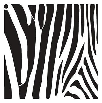 Amazon.de: Zebra streifen Schablone von studior12   Fun Wild Tier ...