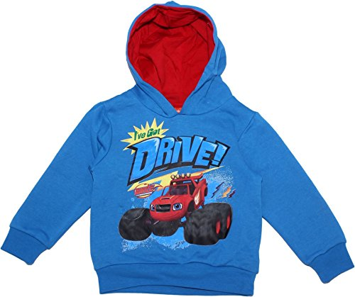 BLAZE MONSTERS Blaze and The Monster Machines Drive Hodded Jumper Royal 8 Years (Blaze And The Monster Machines Full Episodes)