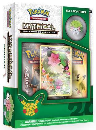 TCG: Mythical Collection Shaymin Card Ga