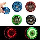 NNDA CO Light Up LED YoYo Ball for Juggling Toy Fancy Move Flashing Trick Kids Toy Gift