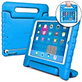 Apple iPad Air case for kids [SHOCK PROOF KIDS IPAD CASE] COOPER DYNAMO Kidproof Child iPad Air 1 Cover for Toddlers, Girls, Boys   Kid Friendly Handle & Stand, Light Weight, Screen Protector (Blue)