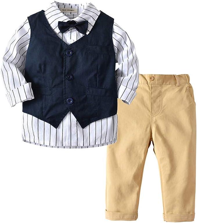 Amazon.com: Tem Doger - Conjunto de ropa formal para bebés y ...