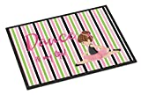 Caroline's Treasures Ballet Dance is my Life Brunette Doormat, 18 H x 27 W'', Multicolor