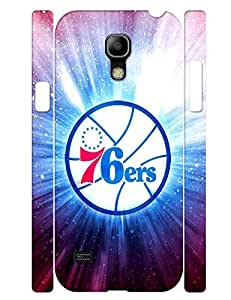 Artful Collection Mobile Phone Case Sporty Logo Basketball Team Graphic Slim Fit Case Cover for Samsung Galaxy S4 Mini I9195 (XBQ-0295T) by lolosakes