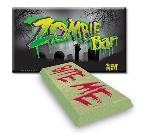 Zombie White Chocolate Bars – Pack of 4