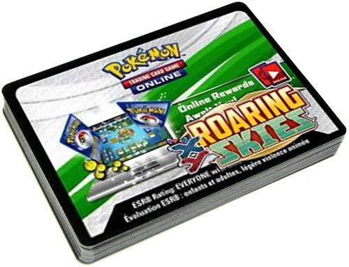 1 X Pokemon Roaring Skies Promo Lot of 36 Code Cards by Pokemon Center