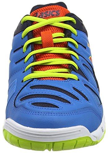 ASICS - Gel-game 5, Zapatillas de Tenis hombre Azul (methyl Blue/orange/lime 4209)
