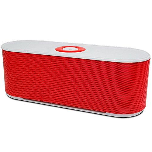 Caixa de som Bluetooth Kimaster K127 - vermelho