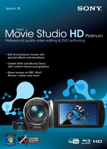 Sony Vegas Movie Studio HD Platinum 10  [OLD VERSION] Sony Film Production