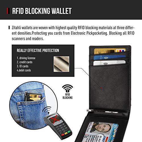 Zitahli Slim Bifold Wallet