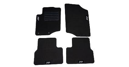 Lupex Shop tpstr 207/Alfombrillas Coche con Velcro