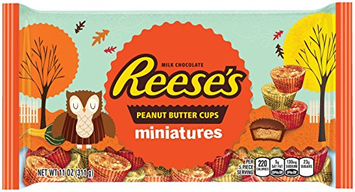REESE'S Fall Harvest Peanut Butter Cup Miniatures (11-Ounce Bag) ()