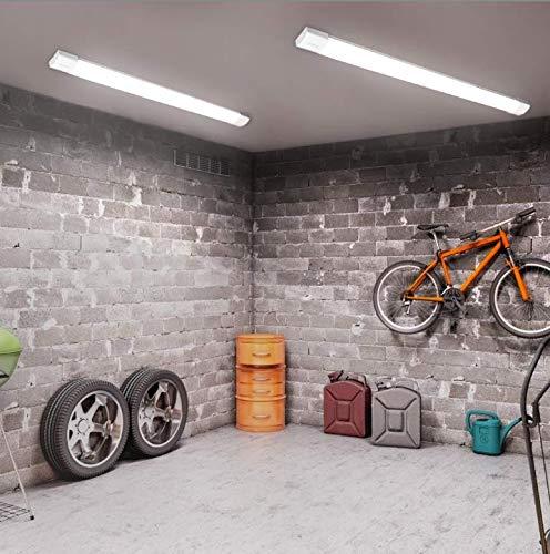 18W IP66 Öuesen LED Batten Ceiling Lights 2ft 60CM Waterproof LED