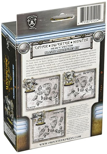 Privateer Press - Warmachine - Convergence: Cipher/Inverter/Monitor Vector Model Kit 4