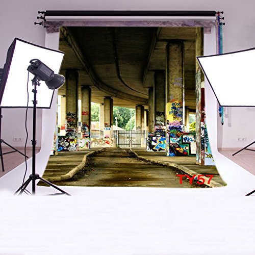 LB 8x8ft Street Graffiti Vinyl Photography Backdro...