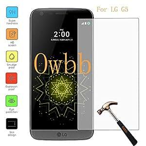 Owbb Film Protector de Pantalla Vidrio Cristal Templado Para LG G5 Smartphone
