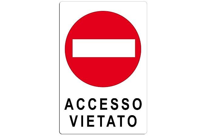 Cartel de señalización Info Seguridad prohibido acceso ...