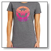 Under Armour Women's Ombre Wonder Woman Semi-Fitted T-Shirt
