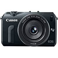 Canon EOS M 18.0 MP Compact Systems Camera with 3.0-Inch LCD and EF-M 22mm STM Lens (OLD MODEL)