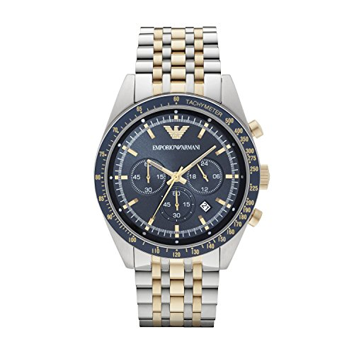 Mens Emporio Armani Chronograph Watch - Watchshop Uk