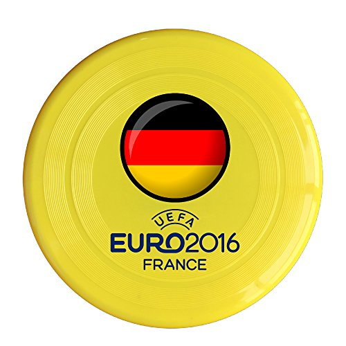 VOLTE Germany Flag Yellow Flying-discs 150 Grams Outdoor Activities Frisbee Star Concert Dog Pet Toys (Justin Bieber Picture Frame)