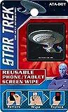 Ata-Boy Star Trek Next Generation Reusable Phone and Tablet Screen Wipe, Starship Enterprise