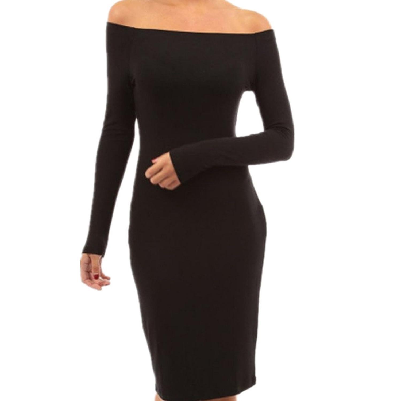 Fanessy Damen Sommer Maxi-Kleid Abendkleid Elegant Damen Strandkleid ...