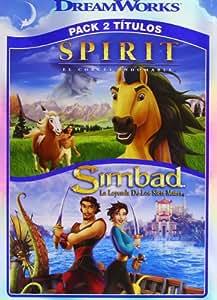 Pack Spirit + Simbad [DVD]